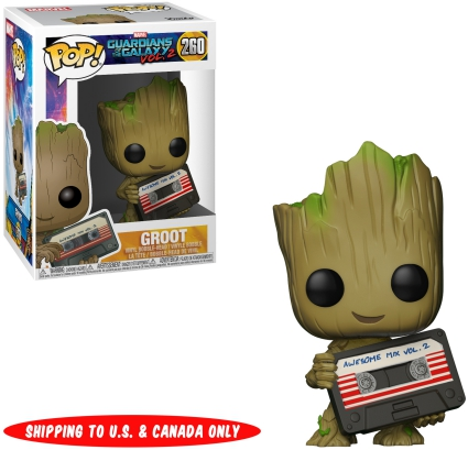 Groot Pop Guardians of the Galaxy: Vol 2 Vinyl Figure NEW Funko