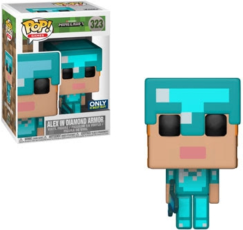 Funko Pop Minecraft Vinyl Figures 32