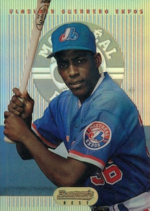 Vlad the Hall of Famer! Top 10 Vladimir Guerrero Baseball Cards 10