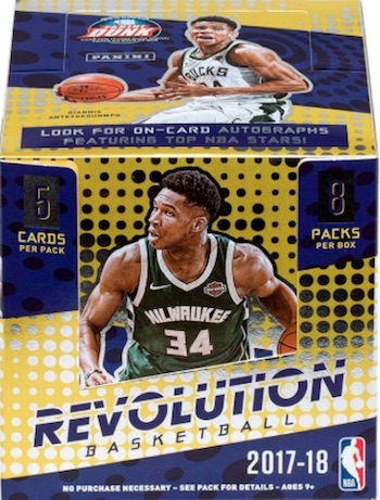 48acaef3d 2017-18 Panini Revolution Basketball Checklist