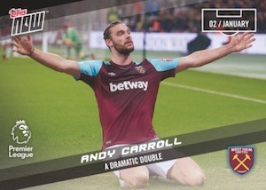 2017-18 Topps Now Premier League Soccer Cards 21