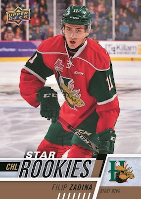 2017-18 Upper Deck CHL Hockey
