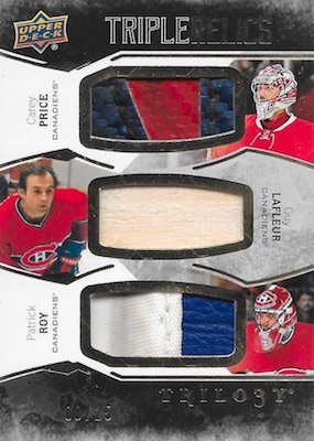 2017-18 Upper Deck Trilogy Hockey