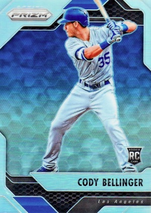 Top Cody Bellinger Rookie Cards and Key Prospect Cards 10