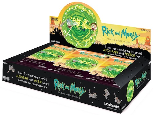 2018 Cryptozoic Rick and Morty Season 1 Trading Cards 5