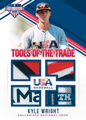 2018 Panini Stars & Stripes USA Baseball