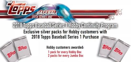 2018 Topps Baseball Silver Pack