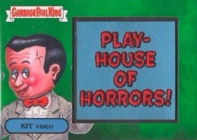 Garbage Pail Kids Topps 2018 Sticker We Hate The '80s Classic New Wave Dave 1a