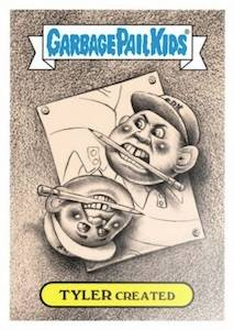 2018 Topps Garbage Pail Kids The Shammy Awards