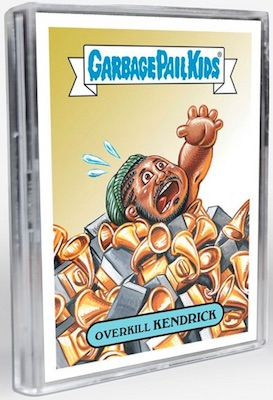 2018 Topps Garbage Pail Kids The Shammy Awards Cards 5