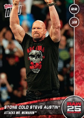 2018 Topps Now WWE