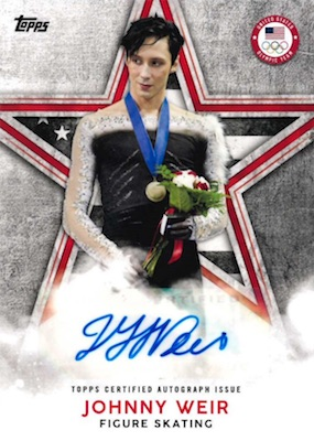 2018 Topps US Winter Olympics and Paralympics Team Hopefuls Trading Cards 30