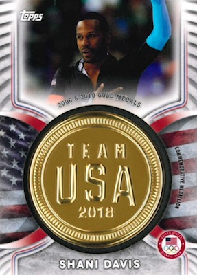 2018 Topps US Winter Olympics and Paralympics Team Hopefuls Trading Cards 6
