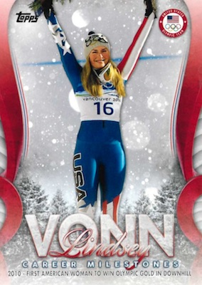 2018 Topps US Winter Olympics and Paralympics Team Hopefuls Trading Cards 4