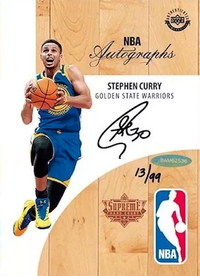 2018 Upper Deck Authenticated NBA Supreme Hard Court Basketball 3