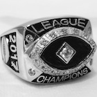 Celebrate Fantasy Football Glory with a Championship Ring, Trophy or Belt