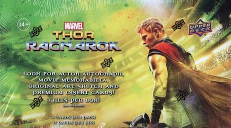 Site Contest: Win a Free Upper Deck Thor Ragnarok Hobby Box - Winner Picked! 1