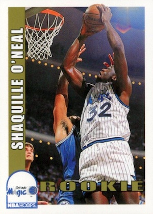 Shaquille O'Neal Rookie Card Checklist and Gallery 4