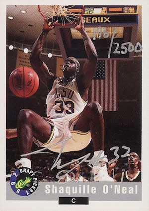 Shaquille O'Neal Rookie Card Checklist and Gallery 13