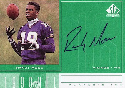 Hall of Fame Randy! Top Randy Moss Football Cards 10