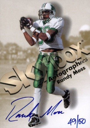 Hall of Fame Randy! Top Randy Moss Football Cards 8
