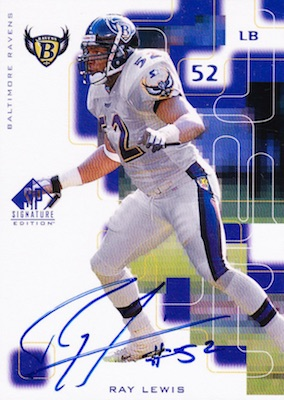 Ray in the HOF! Top Ray Lewis Cards 5