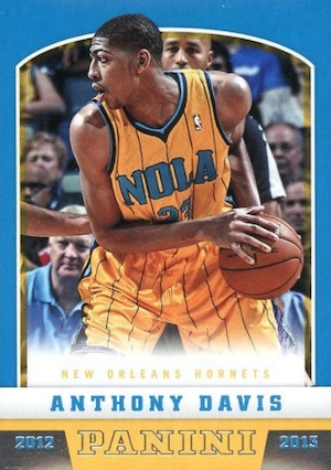 Anthony Davis Rookie Cards Checklist and Gallery 1