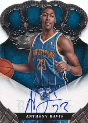 Anthony Davis Rookie Cards Checklist and Gallery 25