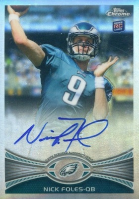 Top Nick Foles Rookie Cards 4