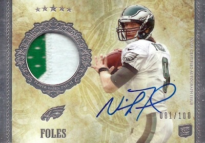 Top Nick Foles Rookie Cards 6