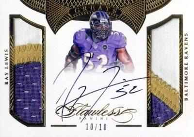 Ray in the HOF! Top Ray Lewis Cards 7