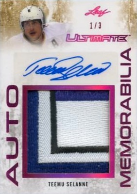2017-18 Leaf Ultimate Hockey