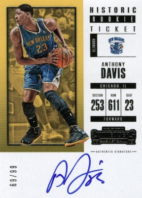 2017-18 Panini Contenders Basketball Cards 5