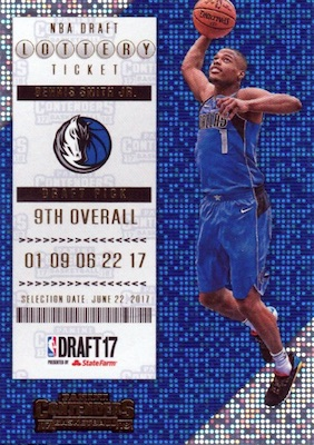 2017-18 Panini Contenders Basketball Cards 34