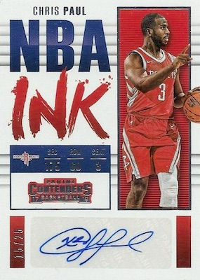 2017-18 Panini Contenders Basketball Cards 35