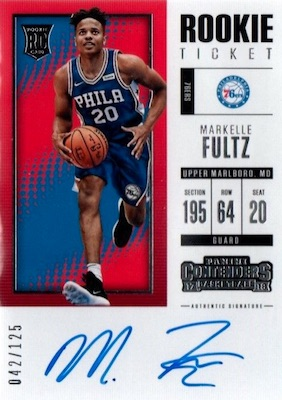 2017-18 Panini Contenders Basketball Cards 28