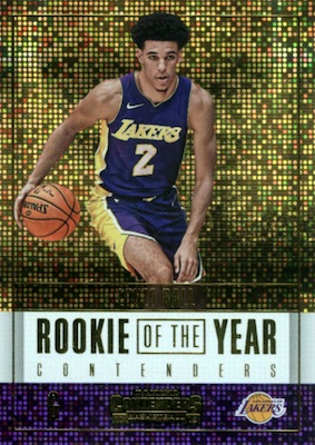 2017-18 Panini Contenders Basketball Cards 37