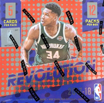 2017-18 Panini Revolution Basketball Cards 44