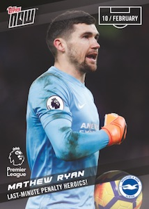 2017-18 Topps Now Premier League Soccer Cards 26