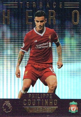 2017-18 Topps Premier League Gold Soccer Cards 24