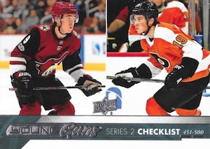 2017-18 Upper Deck Young Guns Guide and Gallery 121