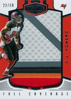 2017 Panini Plates & Patches Football Cards 5