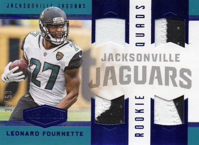 2017 Panini Plates & Patches Football Cards 30
