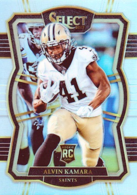 2017 Panini Select Football Cards - XRC Checklist Added 23