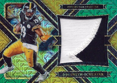 2017 Panini Select Football Cards - XRC Checklist Added 30
