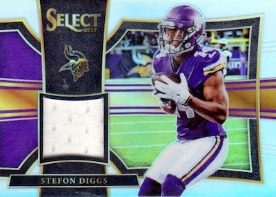 2017 Panini Select Football Cards - XRC Checklist Added 32