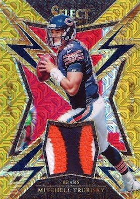 2017 Panini Select Football Cards - XRC Checklist Added 33