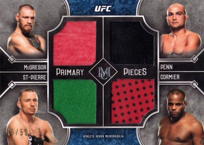 2017 Topps UFC Museum Collection MMA Cards 5