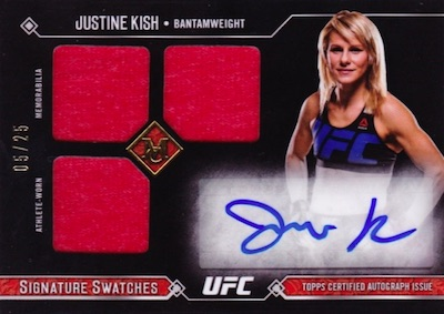 2017 Topps UFC Museum Collection MMA Cards 30