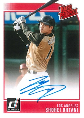 Shohei Ohtani Rookie Cards Checklist and Gallery 14